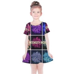 Floral Intensity Increases  Kids  Simple Cotton Dress