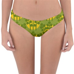 Texture Plant Herbs Green Reversible Hipster Bikini Bottoms by Mariart