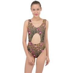 Thistle Field Center Cut Out Swimsuit by okhismakingart