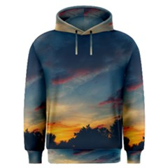 Muted Sunset Men s Overhead Hoodie by okhismakingart