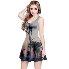 Hazy Thistles Reversible Sleeveless Dress by okhismakingart
