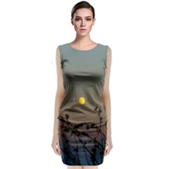 Moon And Thistle Sleeveless Velvet Midi Dress by okhismakingart