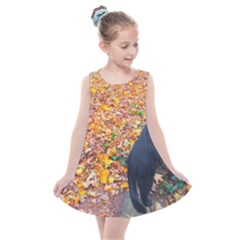 Luna Standing Kids  Summer Dress by okhismakingart