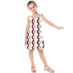 Zappwaits Retro 12 Kids  Sleeveless Dress