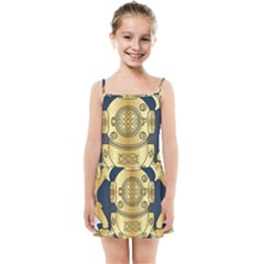 Iranian Navy Special Diver First Class Badge Kids  Summer Sun Dress by abbeyz71