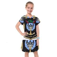Iranian Naval Commandos Command Insignia Kids  Drop Waist Dress by abbeyz71