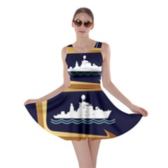 Iranian Navy Marine Corps Badge Skater Dress