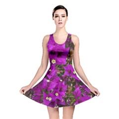 Bougainvillea  Reversible Skater Dress by okhismakingart