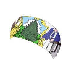 Coat Of Arms Of Maine Yoga Headband by abbeyz71