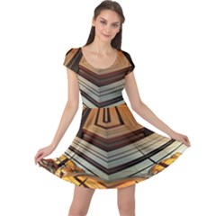 Stadium Fractal The Future Cap Sleeve Dress