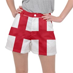Flag Of City Of London Stretch Ripstop Shorts by abbeyz71