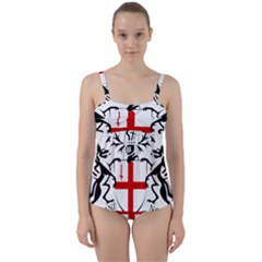 Coat Of Arms Of The City Of London Twist Front Tankini Set by abbeyz71