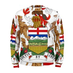 Coat Of Arms Of Alberta Men s Sweatshirt by abbeyz71