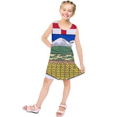 Provincial Shield Of Alberta Kids  Tunic Dress by abbeyz71