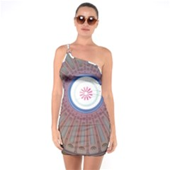 Statehouse Rotunda One Soulder Bodycon Dress by Riverwoman