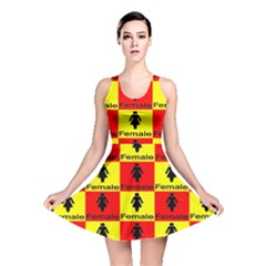 Female Reversible Skater Dress by ArtworkByPatrick