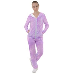 Pastel Salty Watercolor Texture Women s Tracksuit by tarastyle