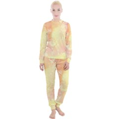 Pastel Salty Watercolor Texture Women s Lounge Set by tarastyle