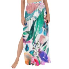Lovely Pinky Floral Maxi Chiffon Tie-up Sarong by wowclothings