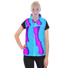 Liquid Abstract Modern Design Women s Button Up Vest by Pakrebo
