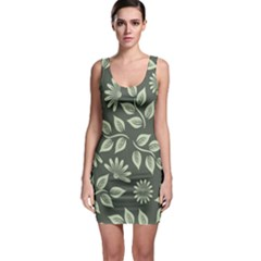 Flowers Pattern Spring Nature Bodycon Dress