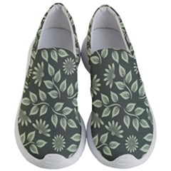 Flowers Pattern Spring Nature Women s Lightweight Slip Ons