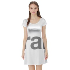 Theranos Logo Short Sleeve Skater Dress by milliahood