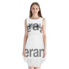 Theranos Logo Sleeveless Chiffon Dress   by milliahood
