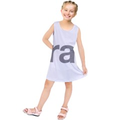 Theranos Logo Kids  Tunic Dress by milliahood