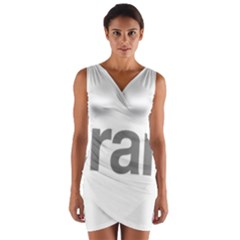 Theranos Logo Wrap Front Bodycon Dress by milliahood