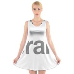 Theranos Logo V Neck Sleeveless Dress by milliahood