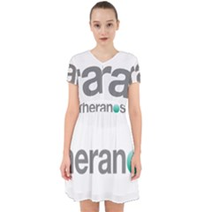 Theranos Logo Adorable In Chiffon Dress by milliahood