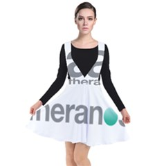 Theranos Logo Plunge Pinafore Dress by milliahood