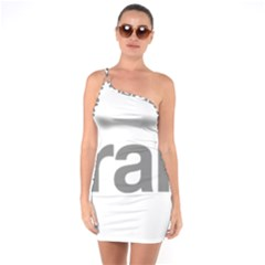 Theranos Logo One Soulder Bodycon Dress by milliahood
