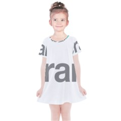 Theranos Logo Kids  Simple Cotton Dress by milliahood