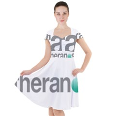 Theranos Logo Cap Sleeve Midi Dress by milliahood