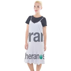 Theranos Logo Camis Fishtail Dress by milliahood