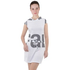 Theranos Logo Drawstring Hooded Dress by milliahood