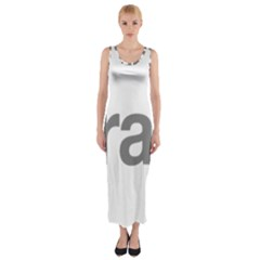 Theranos Logo Fitted Maxi Dress by milliahood