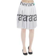Theranos Logo Pleated Skirt by milliahood