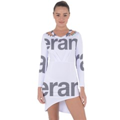 Theranos Logo Asymmetric Cut Out Shift Dress by milliahood
