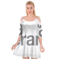 Theranos Logo Cutout Spaghetti Strap Chiffon Dress by milliahood