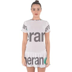 Theranos Logo Drop Hem Mini Chiffon Dress by milliahood