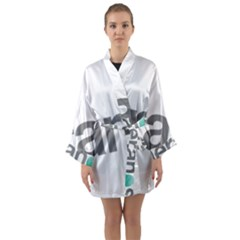 Theranos Logo Long Sleeve Kimono Robe by milliahood