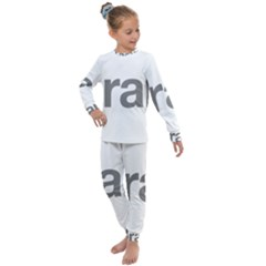Theranos Logo Kids  Long Sleeve Set  by milliahood