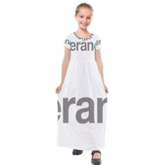 Theranos Logo Kids  Short Sleeve Maxi Dress by milliahood
