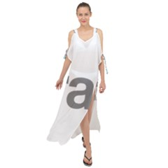 Theranos Logo Maxi Chiffon Cover Up Dress by milliahood