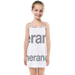 Theranos Logo Kids  Summer Sun Dress by milliahood