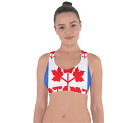 Canada Pearson Pennant, 1964 Cross String Back Sports Bra by abbeyz71