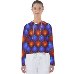 Background Colorful Abstract Women s Slouchy Sweat by HermanTelo